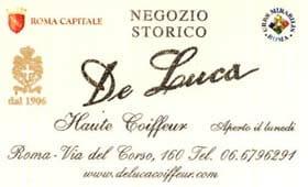 Parrucchiere  – Haute Coifferur  De Luca